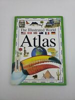 The llustrated World Atlas Kid/Teen Friendly Geographical Learning Library Book