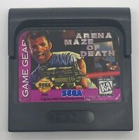 Arena: Maze of Death (Sega Game Gear, 1996) Cart Only Great Shape Tested Working