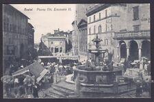 PERUGIA ASSISI 47 MERCATO - FONTANA Cartolina