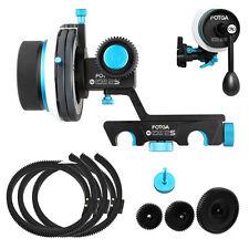 FOTGA DP500IIS AB Hard Stop Follow Focus For 15mm Rod &3x Gear Ring Belt&Crank