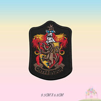 Harry Potter Gryffindor Embroidered Iron On Sew On Patch Badge For Clothes