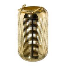 Laterne Windlicht Metall Kerzenhalter Gold Dekolampe Tischlaterne Deko Vega