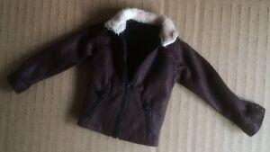 Custom 1/6 scale Leather Jacket Fit walking dead 5 Rick Grimes Damtoys body head