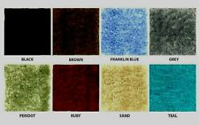 WALL TO WALL NAVY  BATHROOM CARPET-RUGS-CUT TO FIT-IN 4 COLORS- SIZE = 5 X 6  L