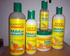 Baba de caracol Hair Treatment Shampoo leave in Combo frete gratis Brasil