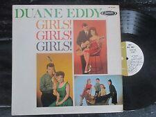DUANE EDDY AND THE REBELS GIRLS! GIRLS! GIRLS! JAMIE 70-3019 SURF ROCK N ROLL