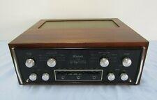 VINTAGE 1970'S MCINTOSH C28 STEREOPHONIC PREAMPLIFIER AMP + ORIGINAL SOLID WOOD