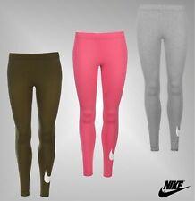 449cb14c22cd5f Ladies Genuine Nike Stylish Casual Gym Fitness Stretch Swoosh Leggings Size  8-16