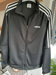 Womens Addids Zip up tracksuit top