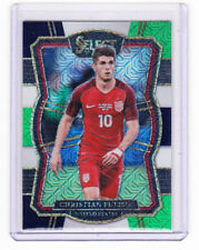 2017-18 PANINI SELECT SOCCER:,CHRISTIAN PULISIC,NO 124,PRIZM, TEAM USA.