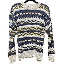 Vintage Northwest Territory Fair Aisle Grandpa Sweater