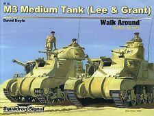 Squadron/Signal Walk Around 5712 - M3 Medium Tank (Lee & Grant) - NEW