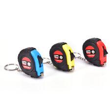 Retractable Ruler Tape Measure Key Chain Mini Pocket Size Metric 1m  I