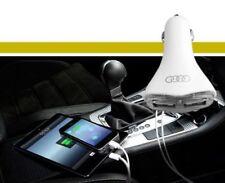 2 IN1 LED UNIVERSAL TWIN 2 PORT USB 12V CAR CHARGER CIGARETTE SOCKET LIGHTER LED