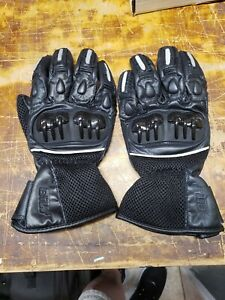 BILT Motorcycle Gloves with knuckle protection Size Large
