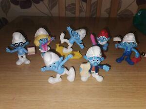 Smurfs Mcdonalds Toys