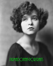 CLARA BOW 8X10 Lab Photo B&W 1922 FAME AND FORTUNE CONTEST Glamour Portrait