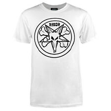 Powell Peralta Bones Pentagram Skateboard T Shirt White w/Black Logo Xl