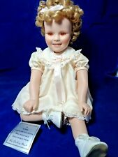 Danbury Mint Shirley Temple Toddler Doll Collection Little Miss Shirley with Box