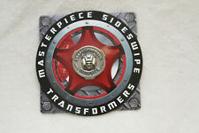 Transformers Masterpiece MP-12 Sideswipe / Lambor Collector Coin new in US