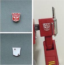 Metal Autobot Logo Symbol for Weijiang Wei Jiang MPP10 Optimus Prime