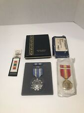 Lot Of 3 Military Medals And Ribbons. New Still In Packaging.