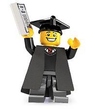 Lego minifig series 5 Graduate city books - suit city sets