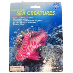 ESHOPPS SEA CREATURES FLOATING ORNAMENT PINK LIONFISH PACK. FREE SHIP IN THE USA
