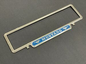 FORD MUSTANG NUMBER PLATE SURROUND/FRAME **SINGLE**