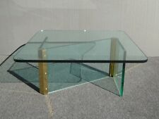Vintage Mid Century Modern Leon Rosen for Pace Z Shaped Coffee Table ~ Square
