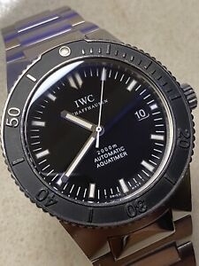 IWC Stainless IW3536 Aquatimer 2000 Meter Automatic Dive Watch