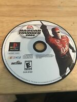NASCAR Thunder 2003 (Sony PlayStation 2, 2002) Working Game Only