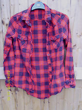 Atmosphere Collared Checked Tops & Shirts for Women