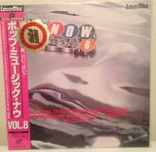 NOW That's What I Call Music 8 Laserdisc JAPAN LD  Rare Communards Housemartins