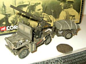 Corgi 50103 M151 A1 Mutt Recoilless Rifle Truck, US Army, Vietnam in 1:43 Scale,