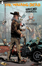WALKING DEAD #1 15TH ANNIVERSARY WORLD'S BEST COMICS RETAILER VARIANT