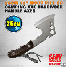 """26CM 10"""" Top Quality Forester Axe 350g Light Weight Camping Hunting Hiking F05"""
