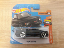 2020 Hot Wheels HotWheels '91 GMC Syclone - 1:64 1/64 HW Hot Trucks 3/10 Black