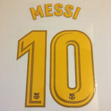Messi 10 Barca Football Shirt Nom Numéro Imprimé Set 2017/18 Soccer Transfert Kit