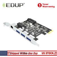 EDUP PCI-E NIC Gigabit Ethernet Network Interface Card USB3.0 for PC LAN Adapter