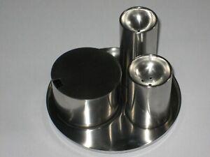 Stelton 'Cylinda Line' Cruet Set by Arne Jacobsen