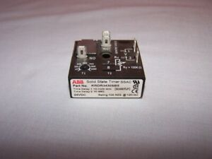 ABB SSAC KRDR3430SB5 SOLID STATE TIMER  10A  NEW IN BOX