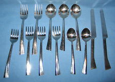 13 Pcs Mikasa Stainless Flatware Discontinued Paris Pattern - Free Shipping