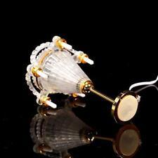 1:12 Doll House Mini Vintage Candle Light Ceiling Light Furniture Model O1U7