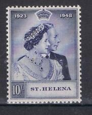 St Helena 1948 Silver Wedding High Value SG 144 MNH