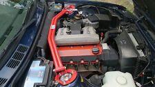 Domstrebe von Wiechers für BMW 3er E30 in Stahl rot Doppelrohr Nr.061006
