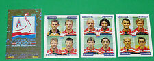 PANINI FOOTBALL FOOT 2001 STADE MALHERBE CAEN SMC COMPLET FRANCE 2000-2001