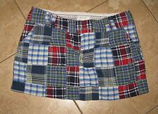 EUC American Eagle Outfitters AE Juniors Teen Plaid Mini Skirt 8