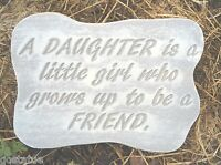 "Daughter Mold plaster concrete mould 11"" x 9"" x 1.20"" thick"