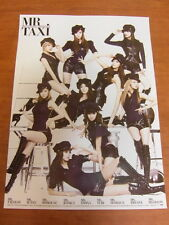 SNSD GIRLS' GENERATION 3rd Mr.Taxi CD w/ 13 CARD + Unfold POSTER $2.99 Ship